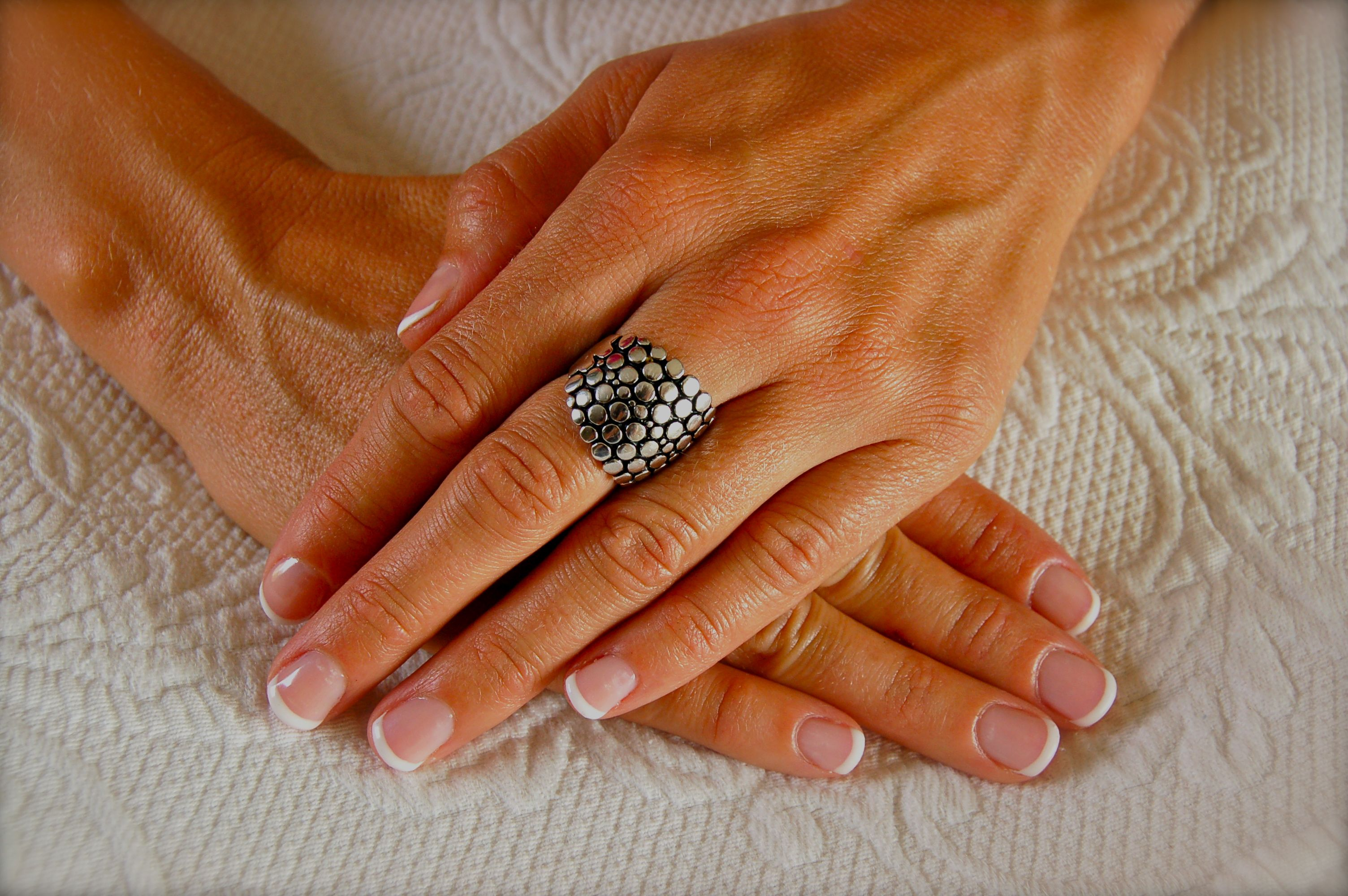Gel Polish French Tip-a comination of Gelish, Shellac, and Wild