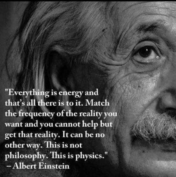 It's just physics...anything is possible if the right amount of energy is applied. Whatever your goals or dreams direct a ton of energy towards them and you will make it happen!