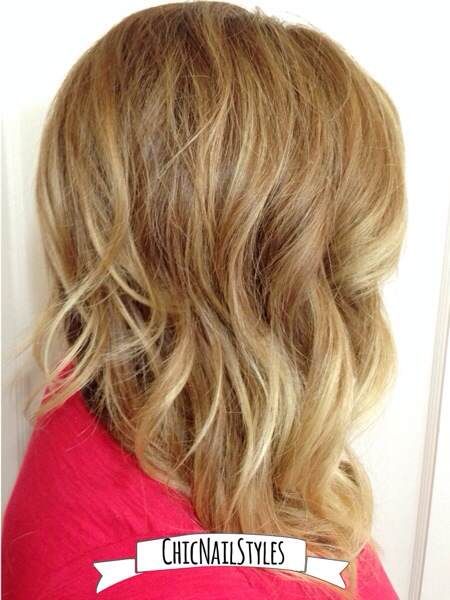 How to go from platinum blonde to bronde ombre chic nail styles we added more blonde highlights throughoutn you tell pmusecretfo Choice Image