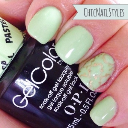 This is a perfect mint in my opinion. Very similar to Essie Mint Candy Apple.
