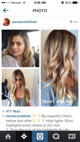 If you aren\u0027t following SemaConde on Instagram do it now! She\u0027s amazing!