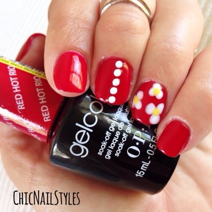 red hot rio gel polish review