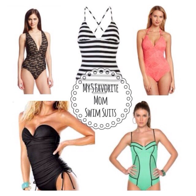 5 great mom swim suits perfect for breastfeeding and playing with kids