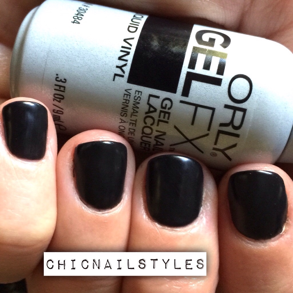 Orly GelFX Liquid Vinyl with Edgy Fall Nailart - Chic Nail Styles