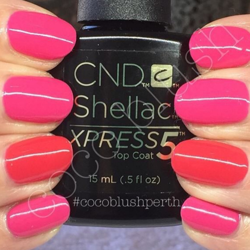 Bright Pink New Years Eve Nails!